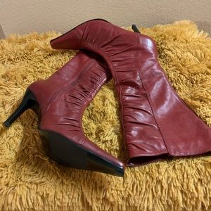Shoes - BP red leather boots